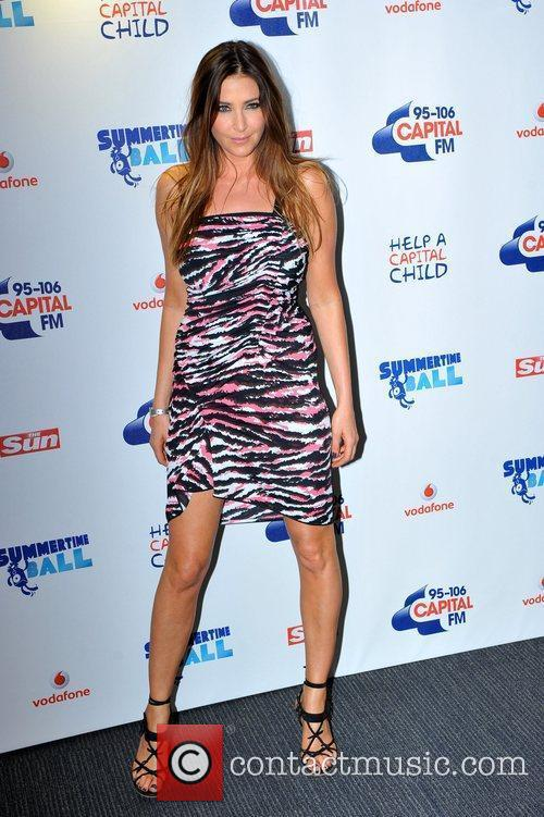 Lisa Snowdon and Wembley Stadium 7