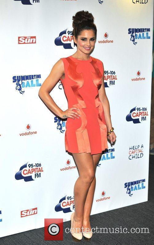 cheryl cole capital fm summertime ball held 5861534