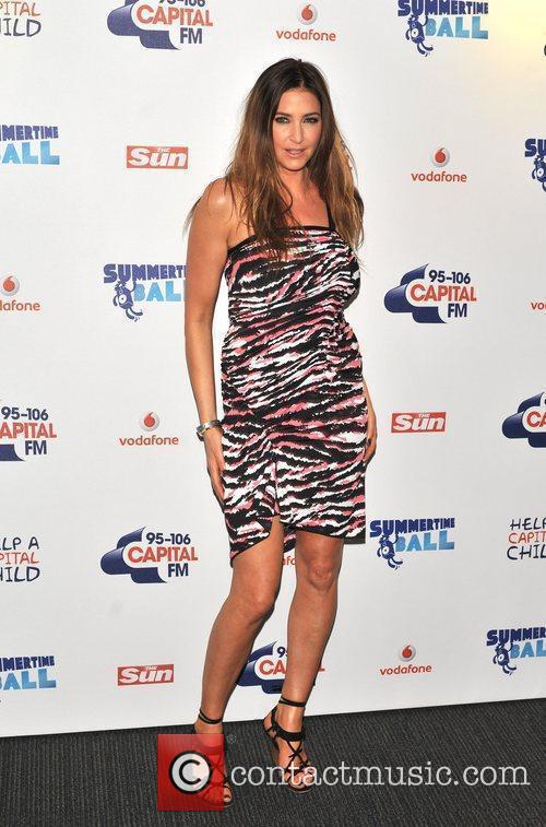 Lisa Snowdon and Wembley Stadium 9