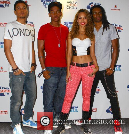 Cover Drive Captial FM Summertime Ball held at...