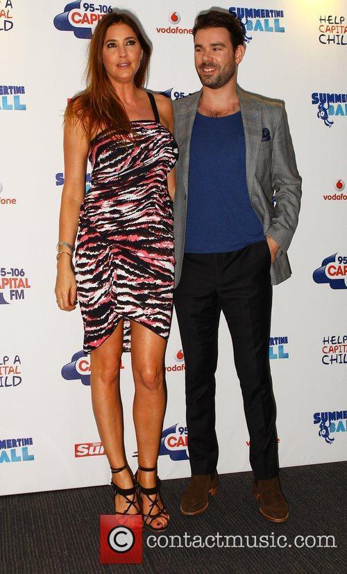 Lisa Snowdon, Dave Berry Captial FM Summertime Ball...