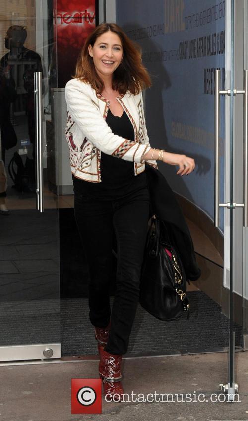 Celebrities leaving the Capital FM studios