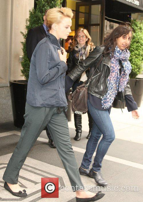 Carey Mulligan leaving her New York hotel