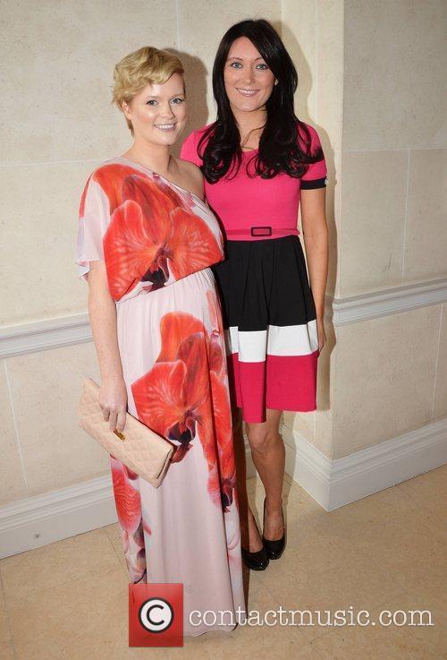 Cecelia Ahern and Georgina Byrne CARI Summer Lunch...