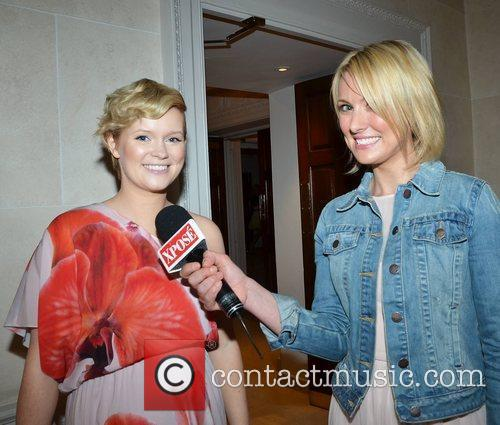 Cecelia Ahern and Kirsteen O'Sull CARI Summer Lunch...