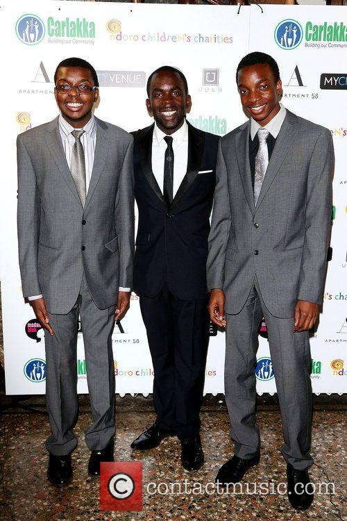 Kojo Annan and Guests Carlakka launch dinner, held...
