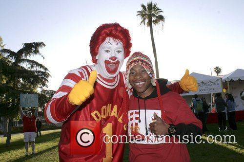 Carlon Jeffery at the 2012 Ronald McDonald House...