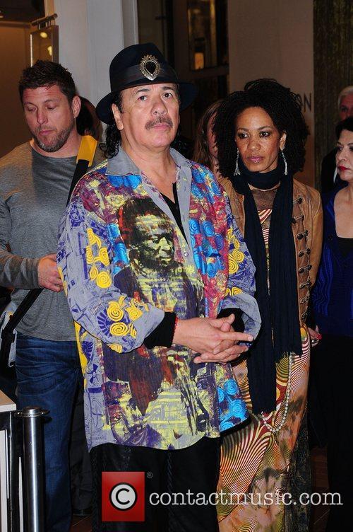 Carlos Santana and Cindy Blackman-santana 7