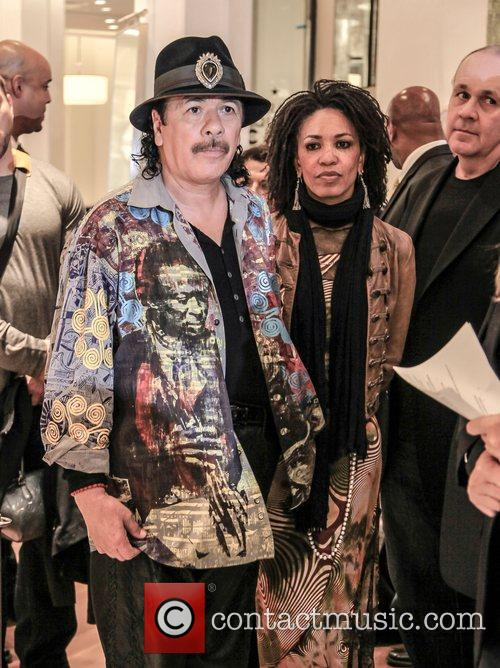 Cindy Blackman-santana and Carlos Santana 5