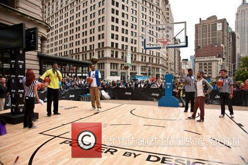 "Hosts the ""Power By Design"" Basketball Challenge to..."