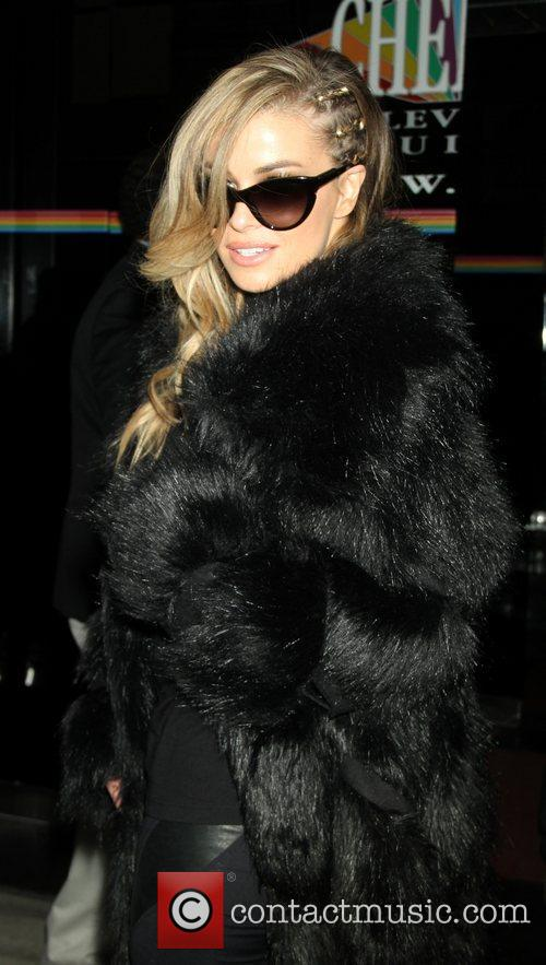 carmen electra arriving at the wendy williams 4191604
