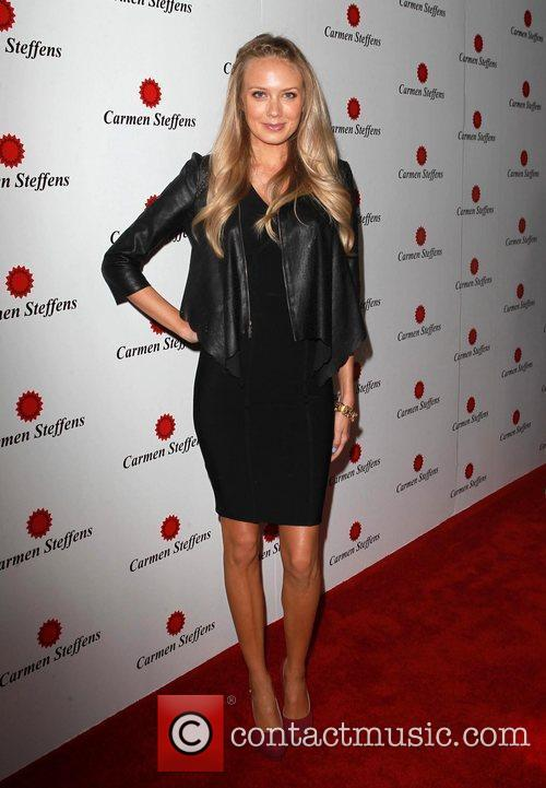 Melissa Ordway Carmen Steffens U.S. Flagship Grand opening...