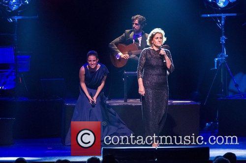 Carminho performing live at Coliseu dos Recreios. Lisbon,...