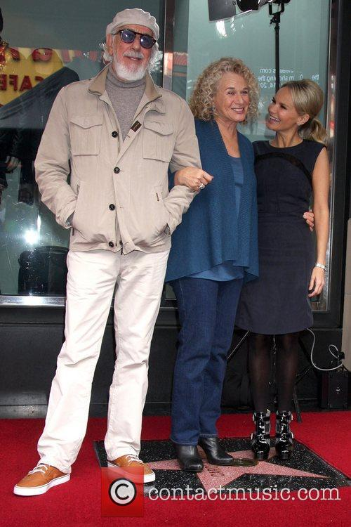 Lou Adler, Carole King and Kristin Chenoweth 1