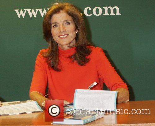 Caroline Kennedy  promotes her book 'Listening In:...