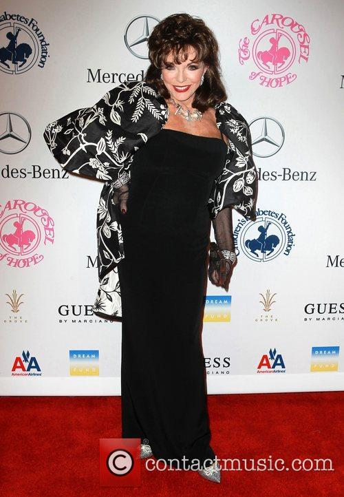 Joan Collins  26th Anniversary Carousel Of Hope...