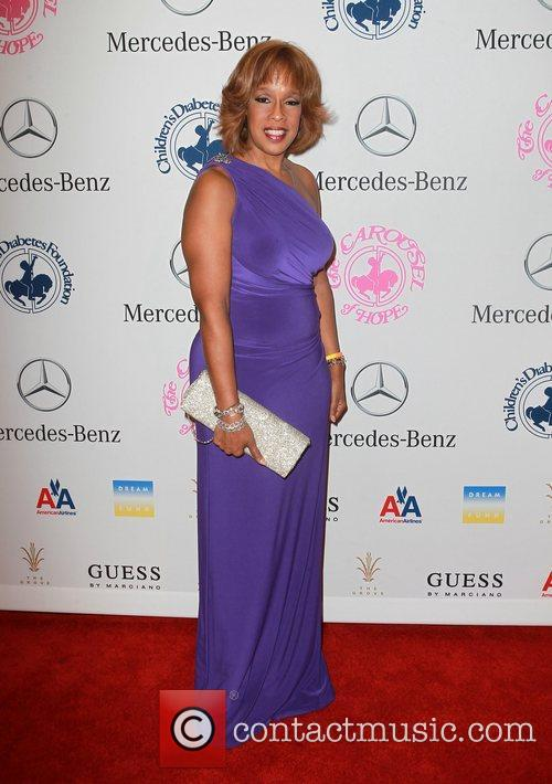 Gayle King  26th Anniversary Carousel Of Hope...