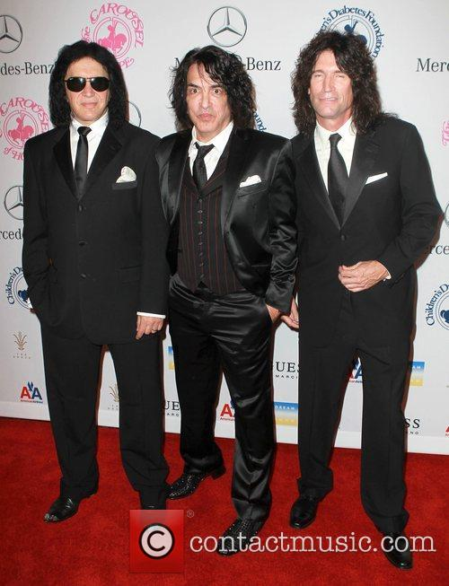 Gene Simmons, Paul Stanley and Tommy Thayer 2