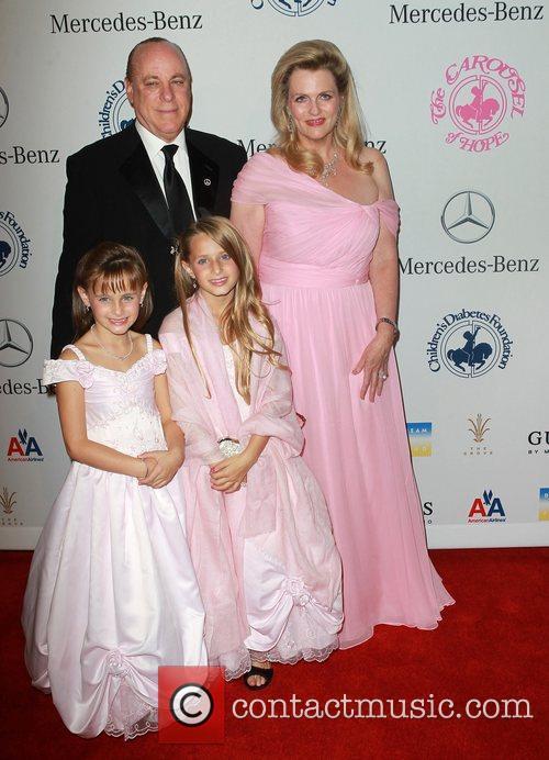 Nancy Davis, Ken Rickel, Isabella Rickel and Ariana Rickel 3