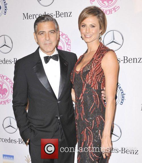 george clooney stacy keibler 26th anniversary carousel 4136555