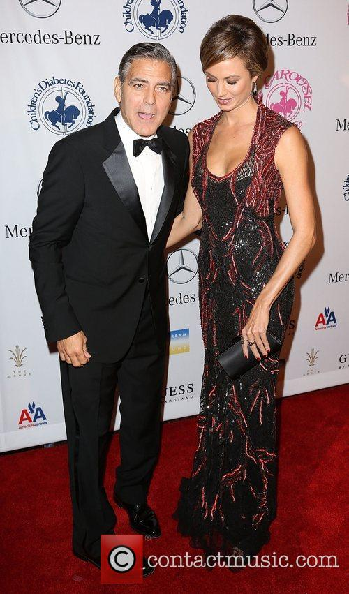 George Clooney and Stacy Keibler 6