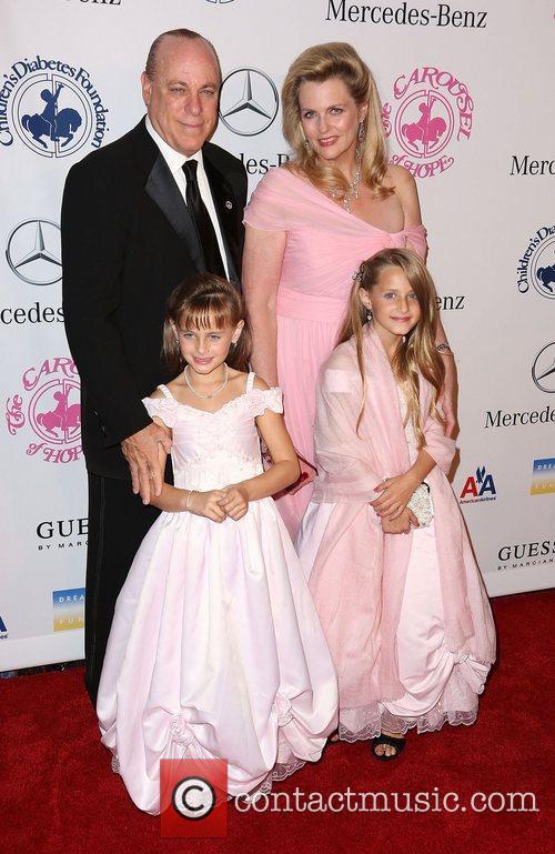 Nancy Davis, Ken Rickel, Isabella Rickel and Ariana Rickel 4