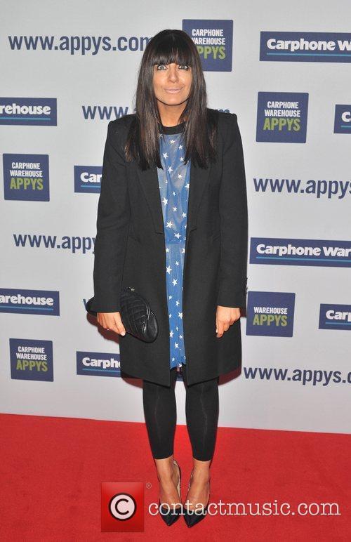 Claudia Winkleman The Carphone Warehouse Appy Awards held...
