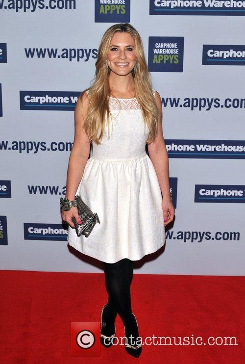 Georgie Thompson The Carphone Warehouse Appy Awards held...
