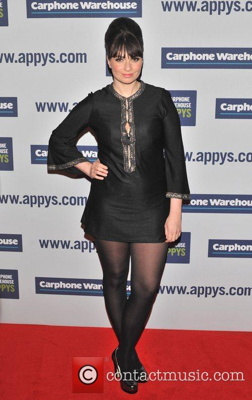 Gizzie Erskine The Carphone Warehouse Appy Awards held...