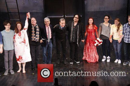 Andy Mientus, Marin Mazzie, Dean Pitchford, Lawrence D....