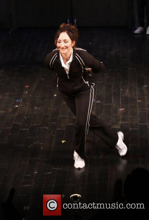 Carmen Cusack  Opening night curtain call for...