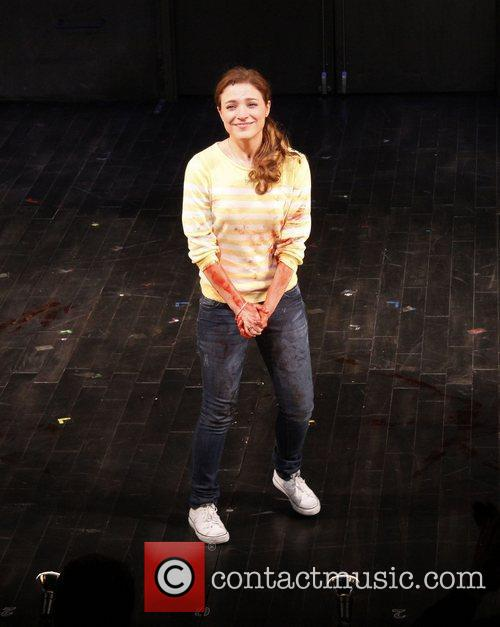 Christy Altomare  Opening night curtain call for...