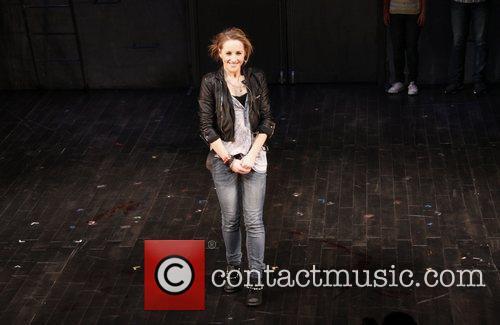 Jeanna de Waal  Opening night curtain call...