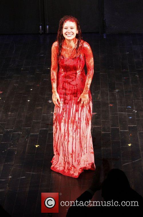 Molly Ranson  Opening night curtain call for...