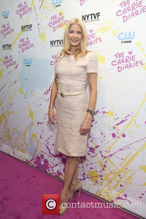 Candice Bushnell The Carrie Diaries Premier held at...