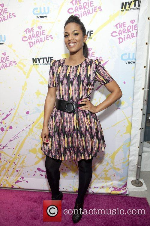 Freema Agyeman The Carrie Diaries Premier held at...
