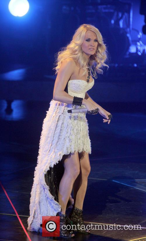 Carrie Underwood, Prudential Center and New Jersey 17