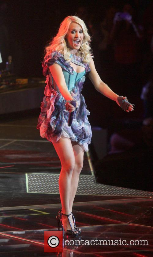 Carrie Underwood, Prudential Center and New Jersey 20