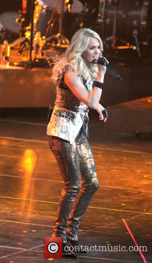 Carrie Underwood, Prudential Center and New Jersey 19