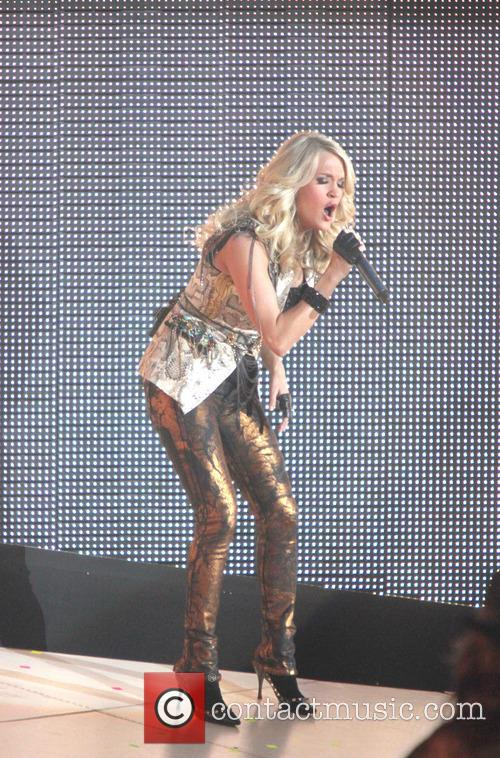 Carrie Underwood, Prudential Center and New Jersey 1