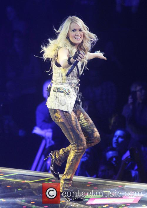 Carrie Underwood, Prudential Center and New Jersey 5
