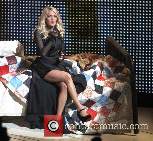 Carrie Underwood, Prudential Center and New Jersey 6
