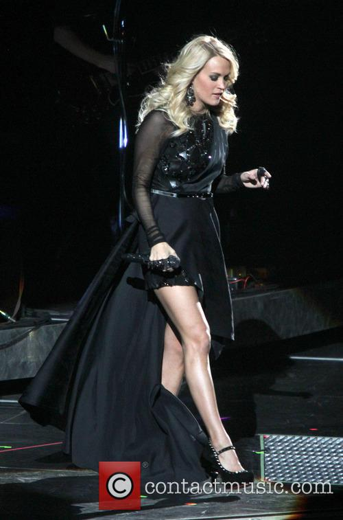 Carrie Underwood, Prudential Center and New Jersey 9