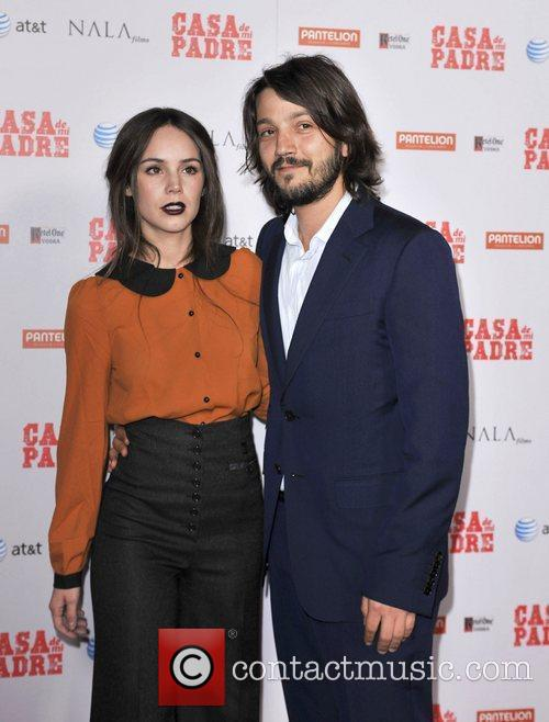 Diego Luna and Grauman's Chinese Theatre 6