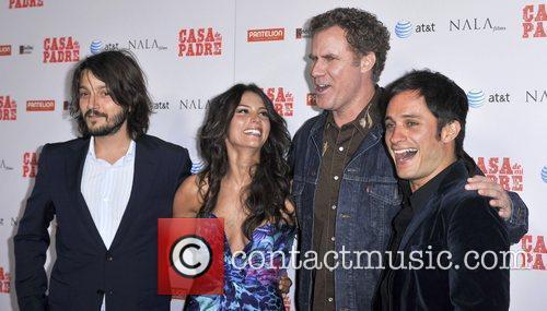 Diego Luna, Gael Garcia Bernal, Genesis Rodriguez, Will Ferrell and Grauman's Chinese Theatre 2