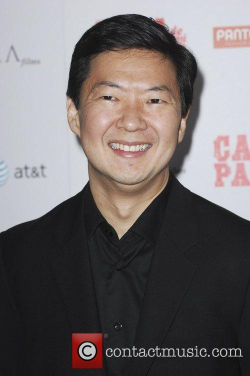 Ken Jeong and Grauman's Chinese Theatre 1