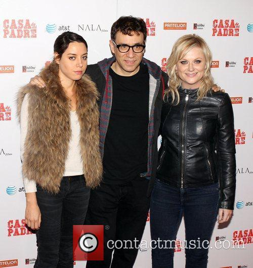 Aubrey Plaza, Amy Poehler, Fred Armisen and Grauman's Chinese Theatre 2