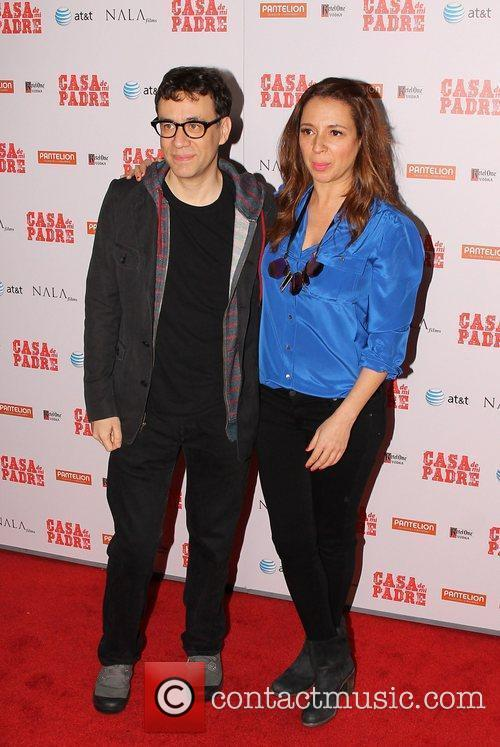 Fred Armisen, Maya Rudolph and Grauman's Chinese Theatre 1