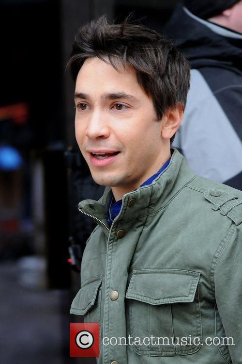 justin long filming on location in manhattan 3743489