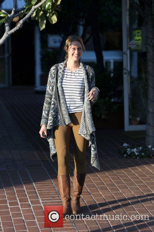 Bachelor 2012 contestant, Casey Shteamer shops at Fred...